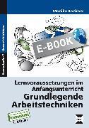 Cover-Bild zu Grundlegende Arbeitstechniken (eBook) von Konkow, Monika