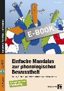 Cover-Bild zu Einfache Mandalas zur phonologischen Bewusstheit (eBook) von Konkow, Monika