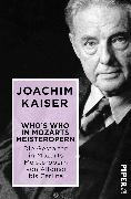 Cover-Bild zu Who´s who in Mozarts Meisteropern von Kaiser, Joachim