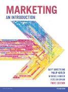 Cover-Bild zu Marketing An Introduction ePub 3rd edition (eBook) von Armstrong, Gary