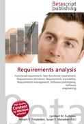Cover-Bild zu Requirements analysis von Surhone, Lambert M. (Hrsg.)