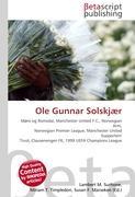 Cover-Bild zu Ole Gunnar Solskjær von Surhone, Lambert M. (Hrsg.)