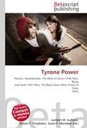 Cover-Bild zu Tyrone Power von Surhone, Lambert M. (Hrsg.)