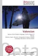Cover-Bild zu Valencian von Surhone, Lambert M. (Hrsg.)