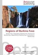 Cover-Bild zu Regions of Burkina Faso von Surhone, Lambert M. (Hrsg.)