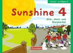 Cover-Bild zu Sunshine 4. 3. Klasse. Bild-, Wort- und Storykarten von Beattie, Tanja