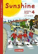 Cover-Bild zu Sunshine 4. 3. Klasse. Activity Book mit Audio-CD von Beattie, Tanja