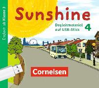 Cover-Bild zu Sunshine 4. Schuljahr. Allgemeine Ausgabe - Neubearbeitung. Begleitmaterial auf USB-Stick. DS von Beattie, Tanja
