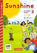 Cover-Bild zu Sunshine 3. Schuljahr. Early Start Edition. Neubearbeitung. Activity Book mit CD-ROM und Audio-CD von Beattie, Tanja