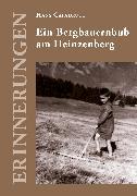 Cover-Bild zu Ein Bergbauernbub am Heinzenberg (eBook) von Capadrutt, Hans