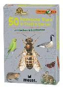 Cover-Bild zu Expedition Natur 50 heimische Tiere in Stadt & Garten von Kessel, Carola von