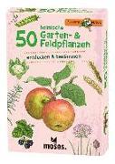 Cover-Bild zu Expedition Natur 50 heimische Garten- & Feldpflanzen von Kessel, Carola von