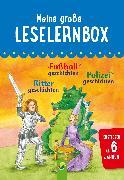 Cover-Bild zu Meine große Leselernbox: Rittergeschichten, Fußballgeschichten, Polizeigeschichten (eBook) von Breitenborn, Anke