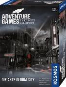 Cover-Bild zu Adventure Games - Die Akte Gloom City