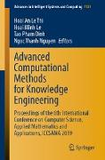 Cover-Bild zu Advanced Computational Methods for Knowledge Engineering (eBook) von Le Thi, Hoai An (Hrsg.)