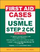 Cover-Bild zu First Aid Cases for the USMLE Step 2 CK von Le, Tao