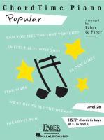 Cover-Bild zu Chordtime Piano Popular: Level 2b von Faber, Nancy (Gespielt)