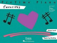 Cover-Bild zu Pretime Piano Favorites: Primer Level von Faber, Nancy (Gespielt)