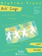 Cover-Bild zu Bigtime Piano Kids' Songs: Level 4 von Faber, Nancy (Gespielt)