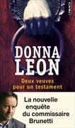 Cover-Bild zu Leon, Donna: Deux veuves pour un testament