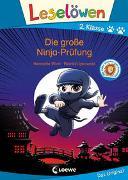 Cover-Bild zu Leselöwen 2. Klasse - Die große Ninja-Prüfung von Wich, Henriette