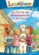 Cover-Bild zu Leselöwen 2. Klasse - Ein Fall für die Mädchenbande von Hierteis, Eva