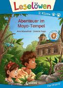 Cover-Bild zu Leselöwen 2. Klasse - Abenteuer im Maya-Tempel von Möwenthal, Anni