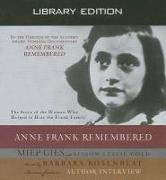 Cover-Bild zu Anne Frank Remembered (Library Edition) von Gies, Miep