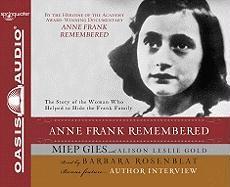 Cover-Bild zu Anne Frank Remembered von Gies, Miep