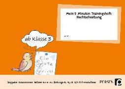 Cover-Bild zu Mein 5-Min-Trainingsheft: Rechtschreibung 2 von Hohmann, Karin