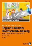 Cover-Bild zu Täglich 5 Minuten Rechtschreib-Training - 2.Klasse (eBook) von Hohmann, Karin