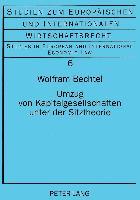 Cover-Bild zu Umzug von Kapitalgesellschaften unter der Sitztheorie von Bechtel, Wolfram