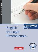 Cover-Bild zu Short Course Series, Englisch im Beruf, English for Special Purposes, B1/B2, English for Legal Professionals, Kursbuch mit CD von Frost, Andrew