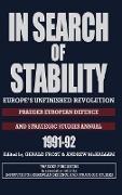 Cover-Bild zu In Search of Stability von Frost, Gerald (Hrsg.)