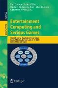 Cover-Bild zu Entertainment Computing and Serious Games von Dörner, Ralf (Hrsg.)