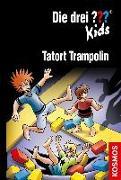 Cover-Bild zu Blanck, Ulf: Die drei ??? Kids, 71, Tatort Trampolin