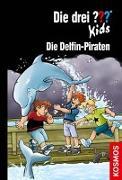 Cover-Bild zu Blanck, Ulf: Die drei ??? Kids, 82, Die Delfin-Piraten