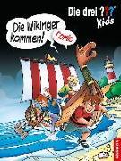 Cover-Bild zu Die drei ??? Kids, Die Wikinger kommen! von Hector, Christian