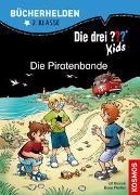 Cover-Bild zu Die drei ??? Kids, Bücherhelden 2. Klasse, Die Piratenbande von Pfeiffer, Boris