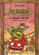 Cover-Bild zu Die Saurios. El Leguano büxt aus von Polák, Stephanie