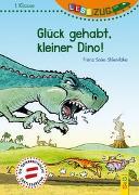 Cover-Bild zu LESEZUG/1. Klasse: Glück gehabt, kleiner Dino! von Sklenitzka, Franz Sales