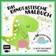 Cover-Bild zu Das dinotastische Malbuch