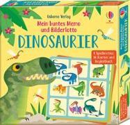 Cover-Bild zu Mein buntes Memo und Bilderlotto: Dinosaurier von Smith, Sam
