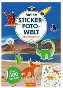 Cover-Bild zu Meine Sticker-Foto-Welt - Dinosaurier von Bellermann, Lena (Illustr.)