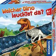 Cover-Bild zu Welcher Dino leuchtet da?