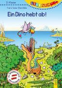 Cover-Bild zu LESEZUG 2. Klasse Ein Dino hebt ab! von Sklenitzka, Franz Sales