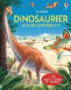 Cover-Bild zu Dinosaurier Schablonenbuch von Pearcey, Alice