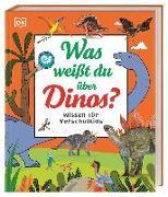 Cover-Bild zu Wissen für Vorschulkids. Was weißt du über Dinos? von Sixt, Eva (Übers.)