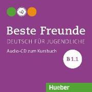 Cover-Bild zu Beste Freunde B1/1 Audio-CD zum Kursbuch von Georgiakaki, Manuela