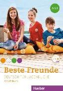 Cover-Bild zu Beste Freunde A1. Paket Arbeitsbuch A1/1 und A1/2 mit 2 Audio-CDs von Georgiakaki, Manuela